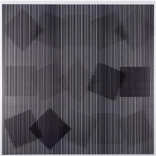 Alberto BIASI (Né en 1937) Rolling squares, 2000-2008