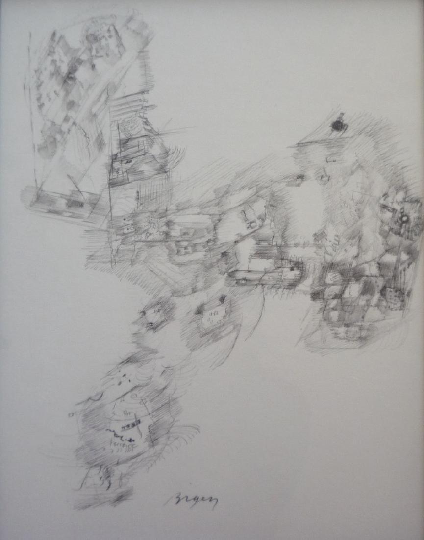 Camille BRYEN (1907-1977)     Composition abstraite I,