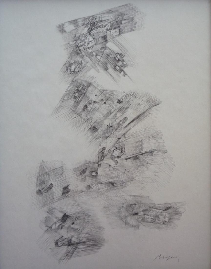Camille BRYEN (1907-1977)     Composition abstraite II,