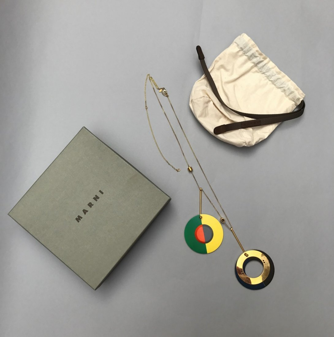 MARNI NECKLACE WITH CIRCLES - 3