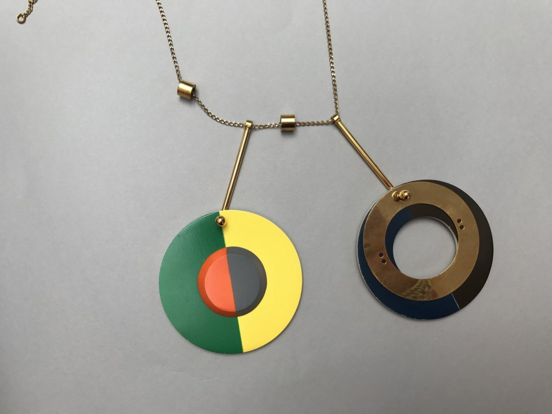 MARNI NECKLACE WITH CIRCLES - 4