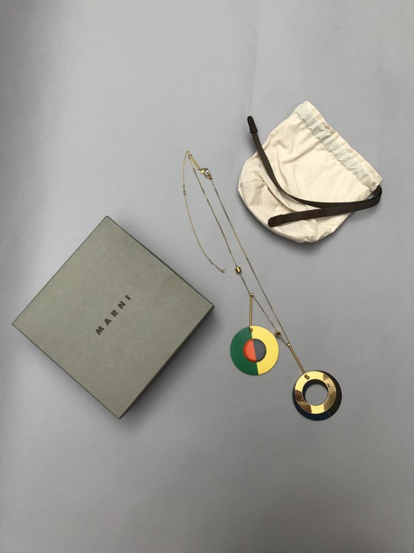 MARNI NECKLACE WITH CIRCLES - 5