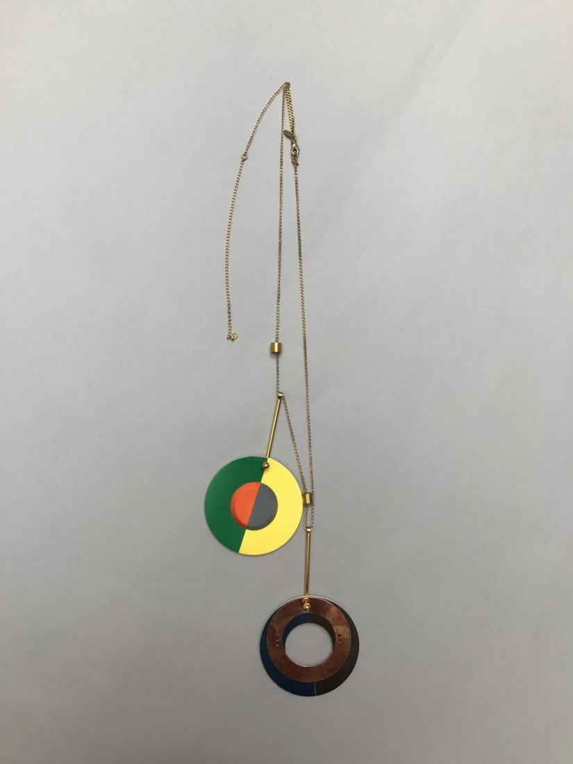MARNI NECKLACE WITH CIRCLES - 6