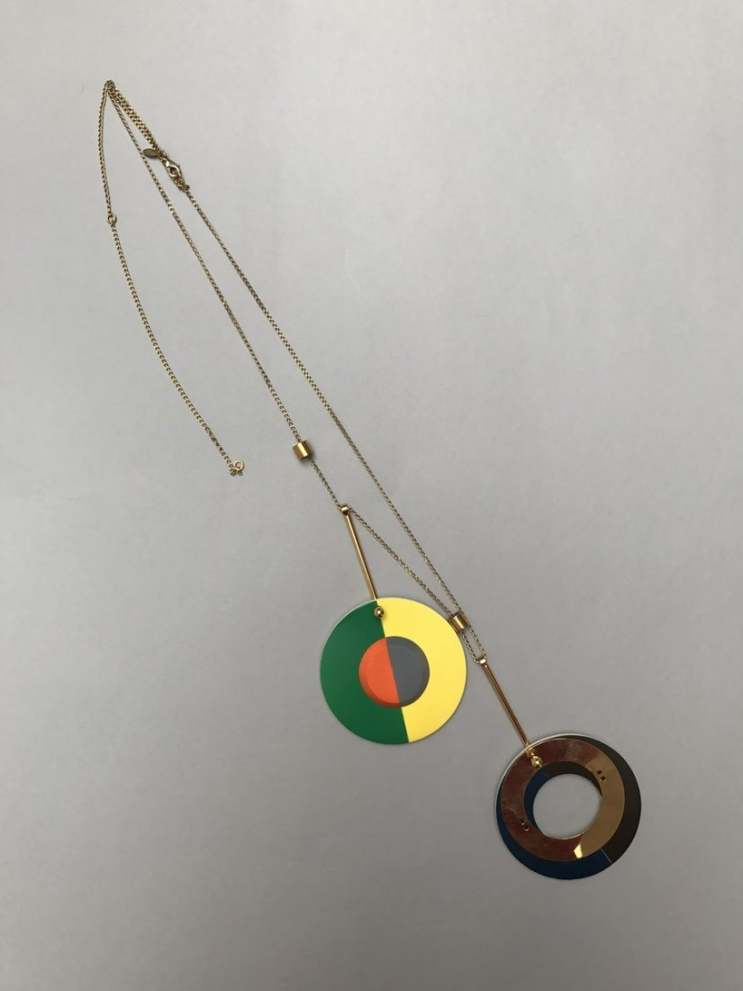 MARNI NECKLACE WITH CIRCLES - 7