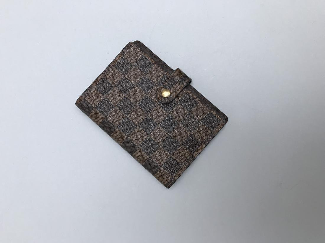 LOUIS VUITTON  COUVERTURE D'AGENDA en cuir enduis - 2