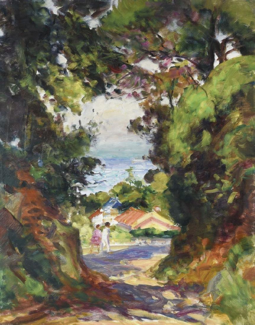 Gaston SEBIRE (1920-2001)  Petite route au Cap