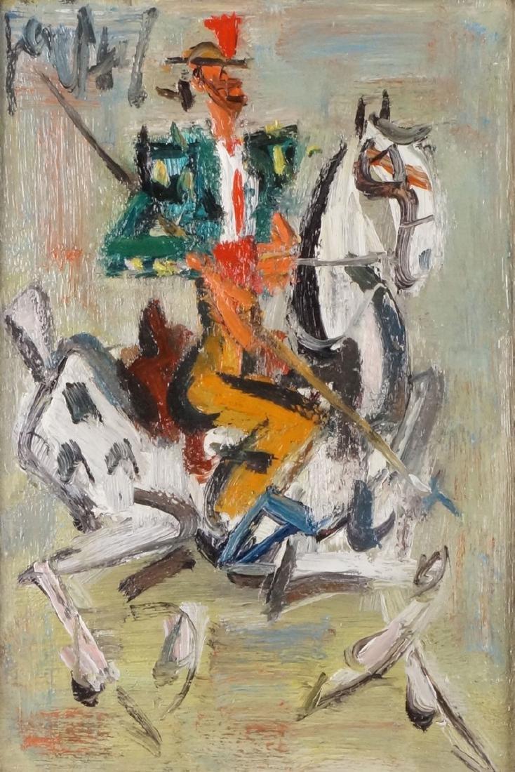 GEN-PAUL (1895-1975 )  Le Picador  Huile sur panneau,