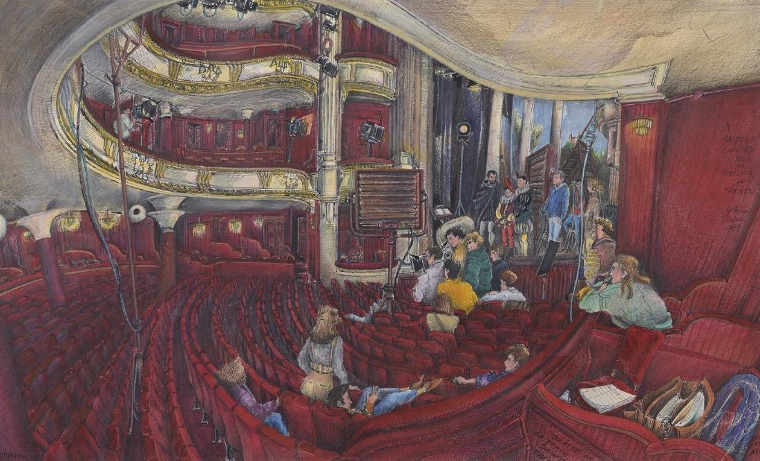 Catherine DUBREUIL (Née ne 1956)  Le théâtre de la