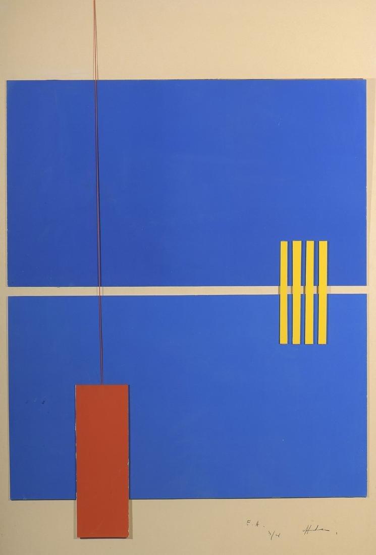 Albert CHUBAC (1925 - 2008)  Sans titre   Huile et