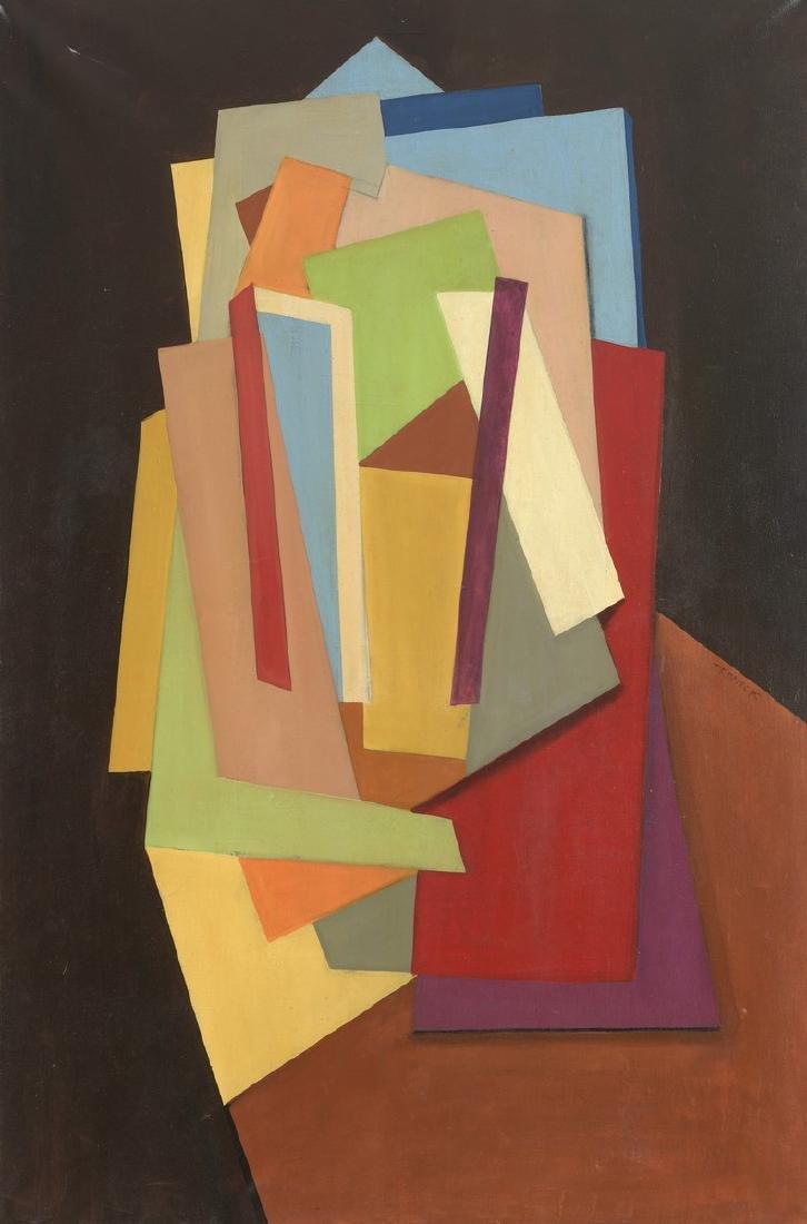 Oscar TRONECK (XXème siècle)  Composition