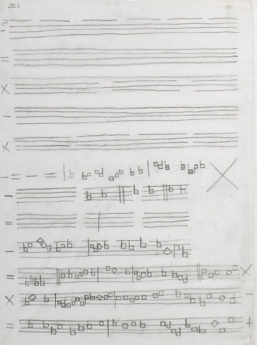 Herbert ZANGS (GER/1924-2003)  Composition 2123,