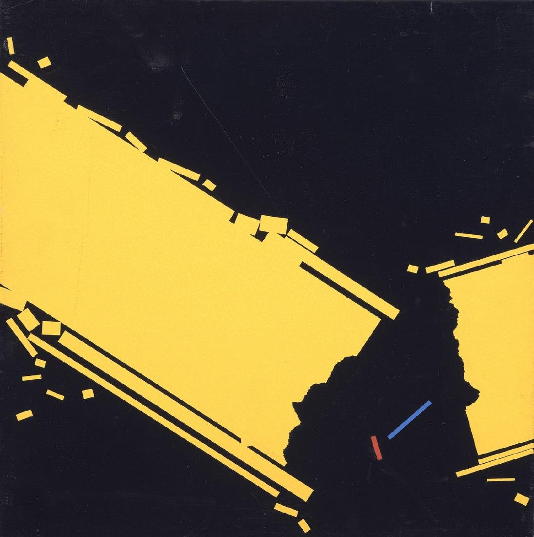 Beppe BONETTI (Né en 1951)  Metarazionalité,1999
