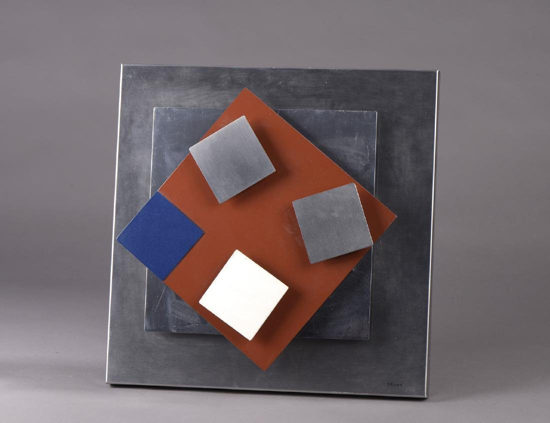 ORVAN (XXème siècle)  Composition géométrique