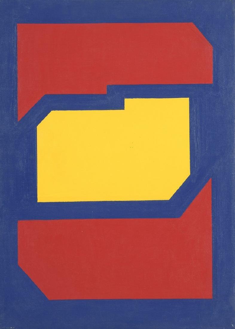 Jacques MENNESSONS (1923-1983)  Un pas dans le sable