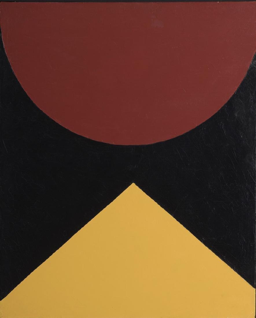 """Tsutomy NUNOKAWA (Né en 1933)  """"Couleur 18"""", 2005"""