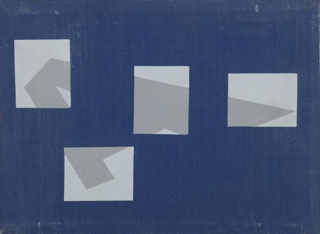 Renato SPAGNOLI (Né en 1928)  «A8/4BI  Acrylique sur
