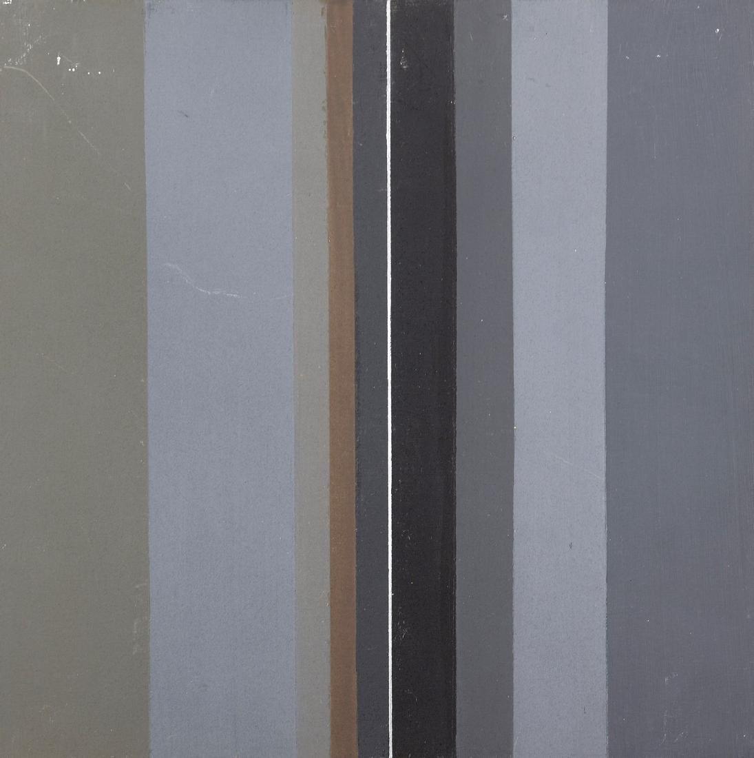 Vincenzo PILLITTA (Né en 1948)  «Verticalita grigio