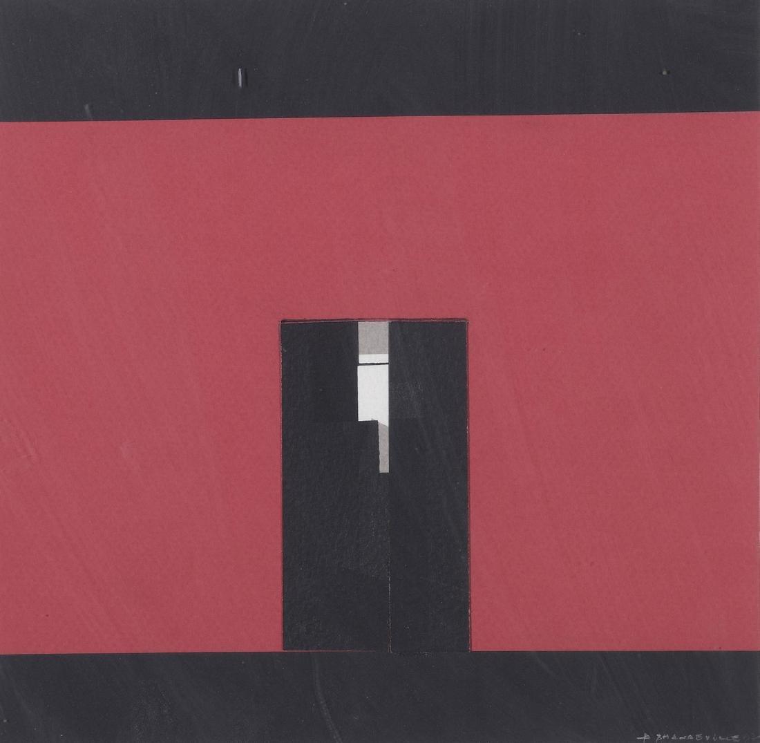 Bernard MANDEVILLE (1921-2000)  Sans titre  Acrylique