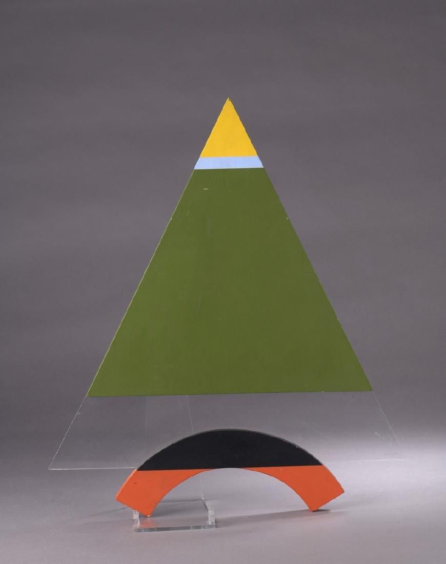 Henri MOUVANT (1926-2015)  Triangle,1997  Acrylique,
