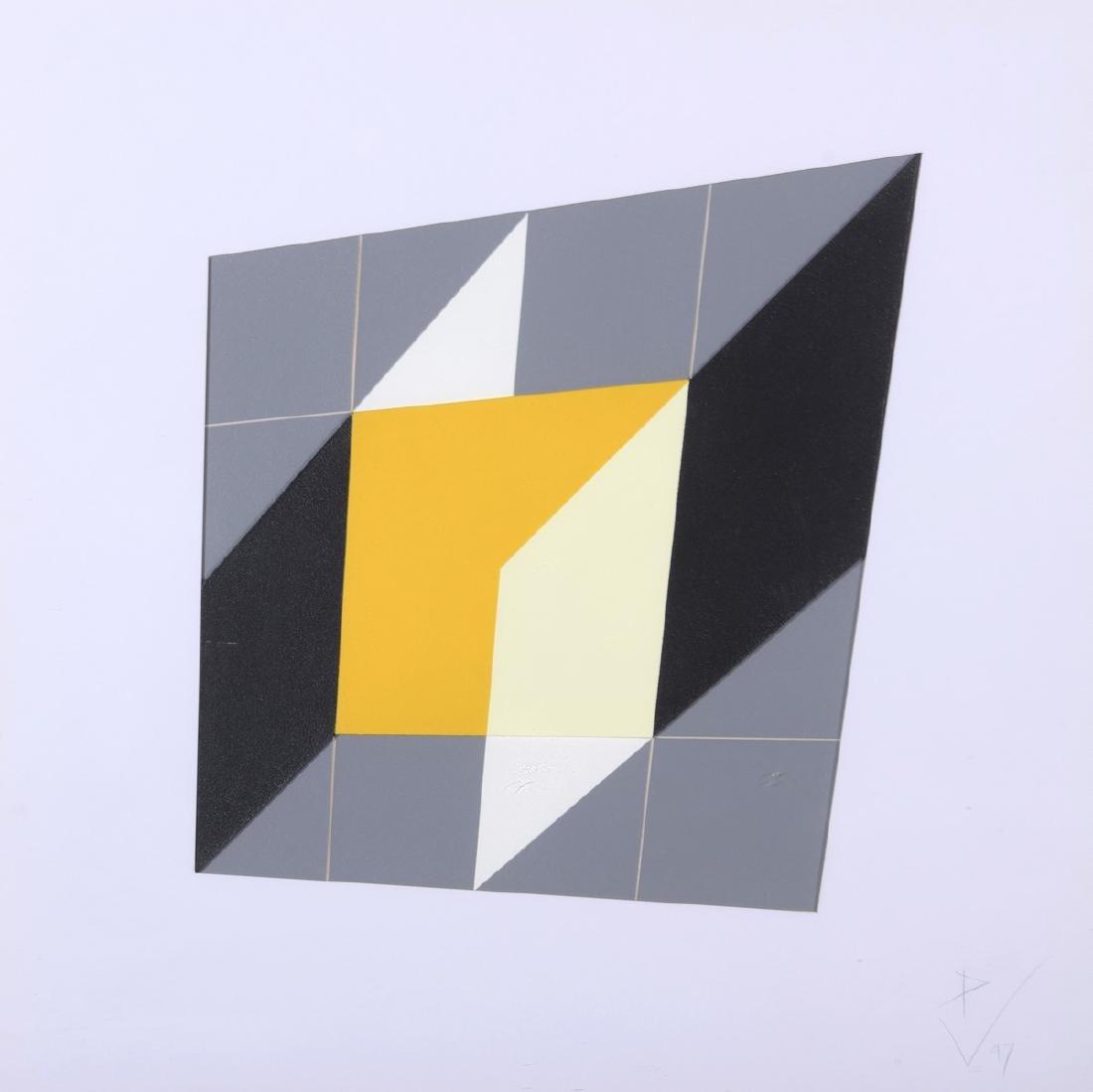 ECOLE CONTEMPORAINE  Formes géométriques, 1997