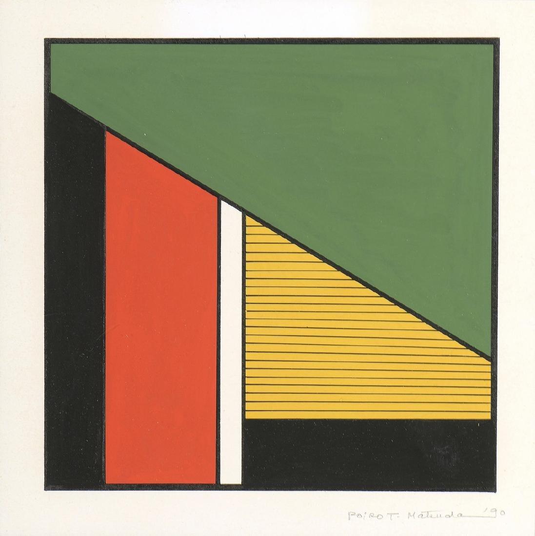 POIROT MATSUDA (Né en 1940)  Sans titre , 1990