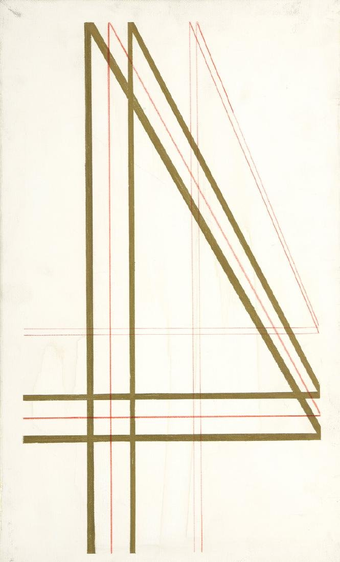 Vincenzo GIGLI (XXème siècle)  Composition abstraite