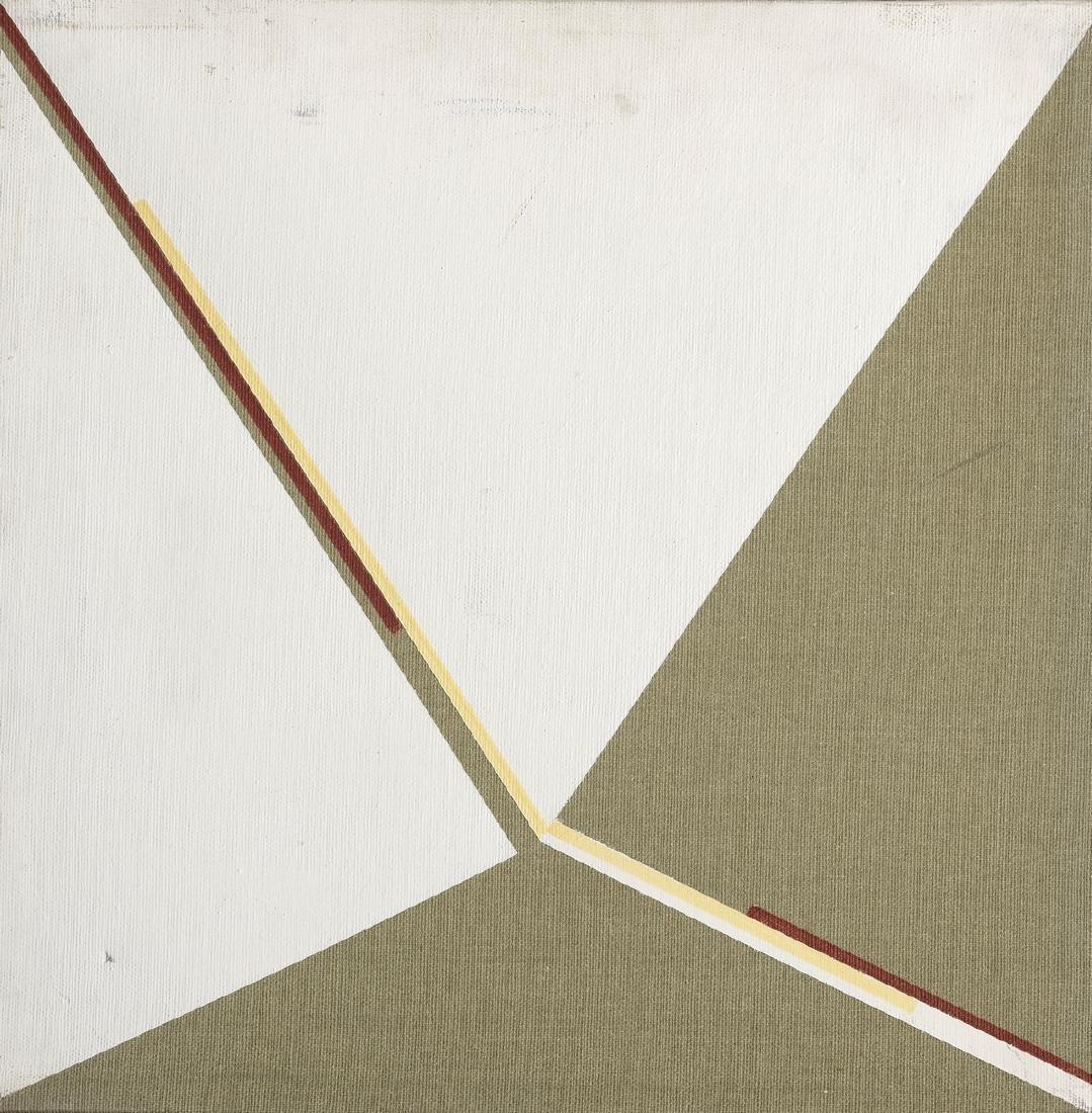 Anna TORELLI (Né en 1927)  Sans titre, 1982  Acrylique