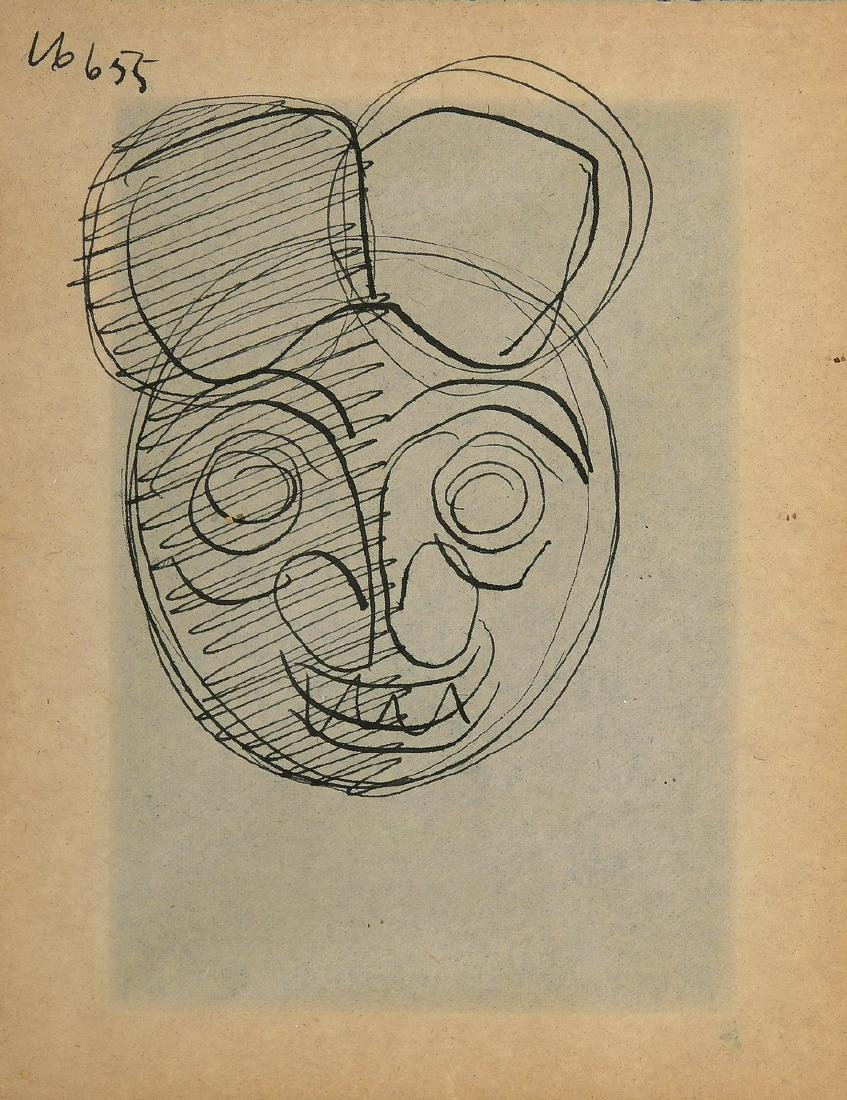 Siep VAN DE BERG (1913-1998)  Mickey Mouse (Maskers