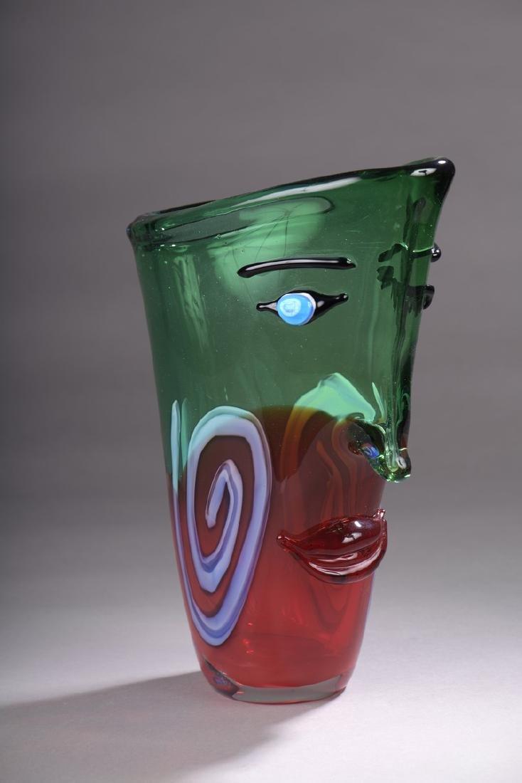 ECOLE CONTEMPORAINE  MURANO-VENISE- XXème SIECLE  Vase