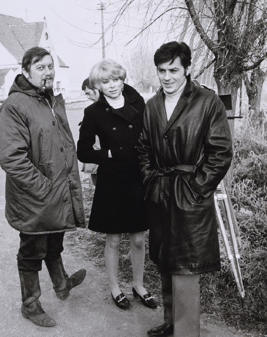 Tony GRYLLA (Né en 1941)  Alain Delon, Mireille Darc