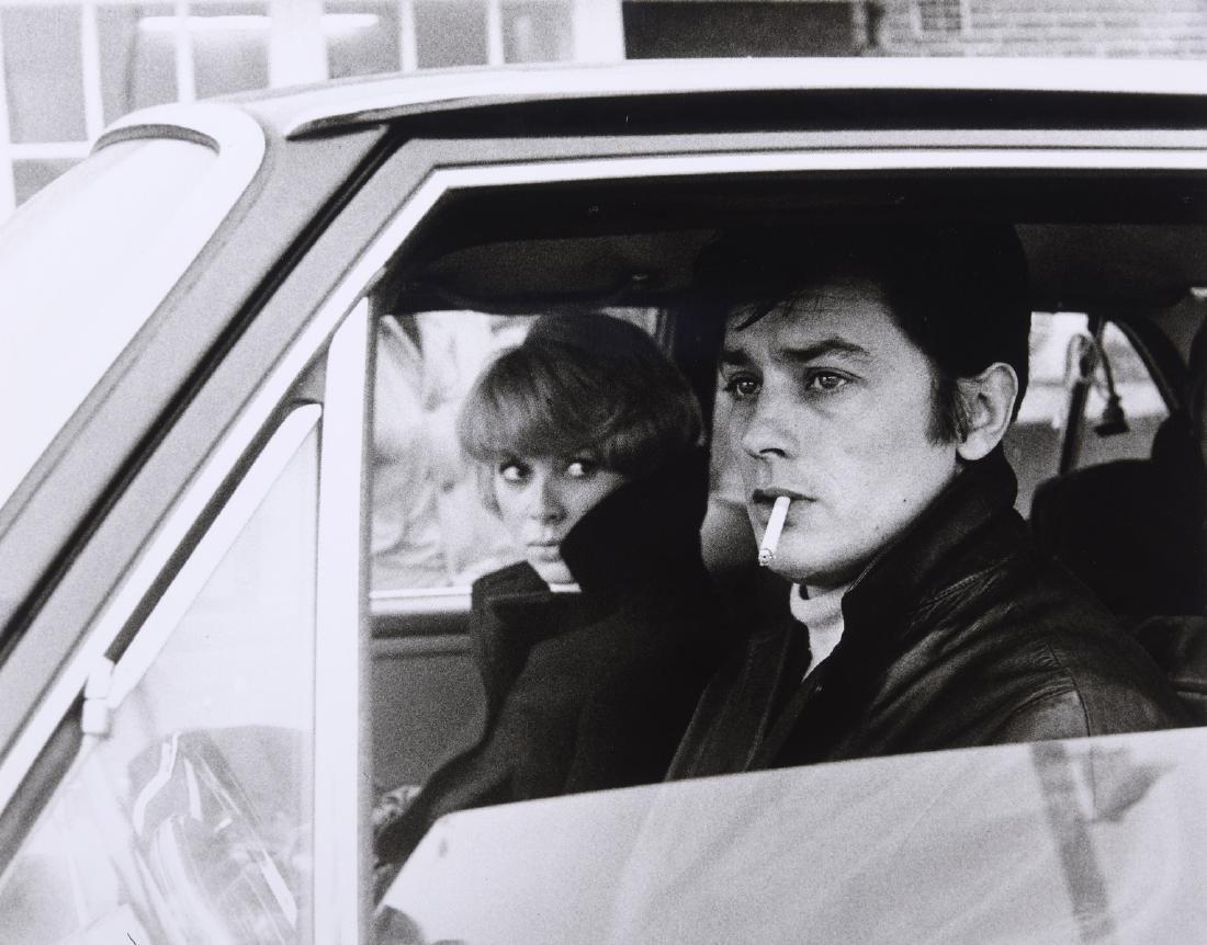 Tony GRYLLA (Né en 1941)  Alain Delon et Mireille Darc