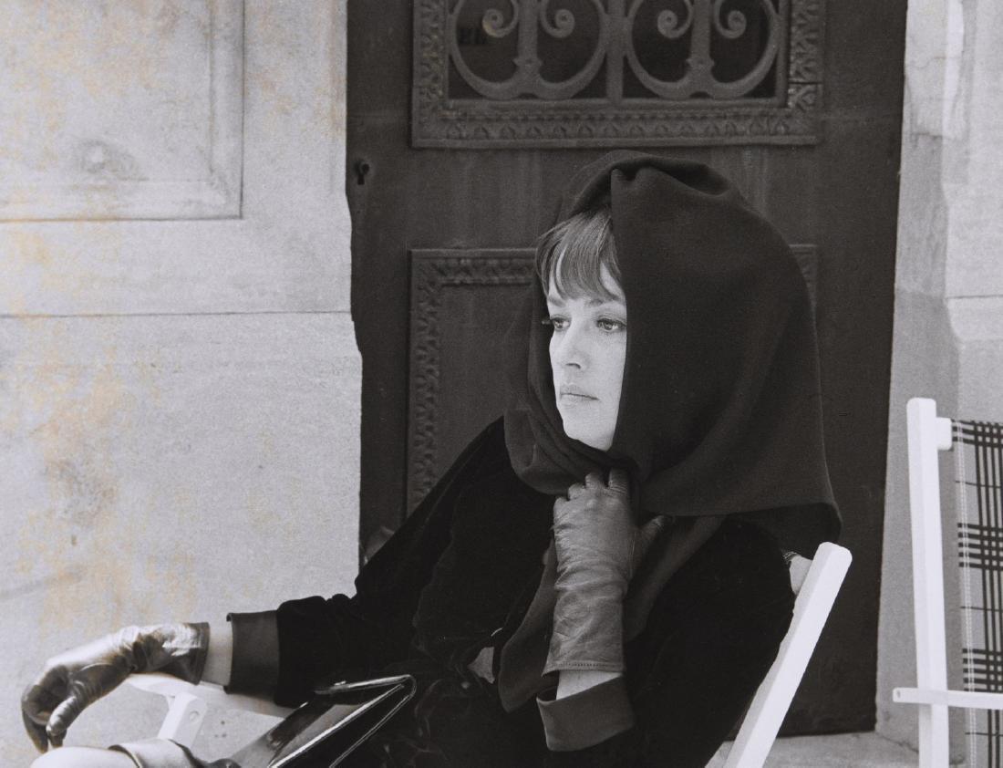 Tony GRYLLA (Né en 1941)  Jeanne Moreau sur le