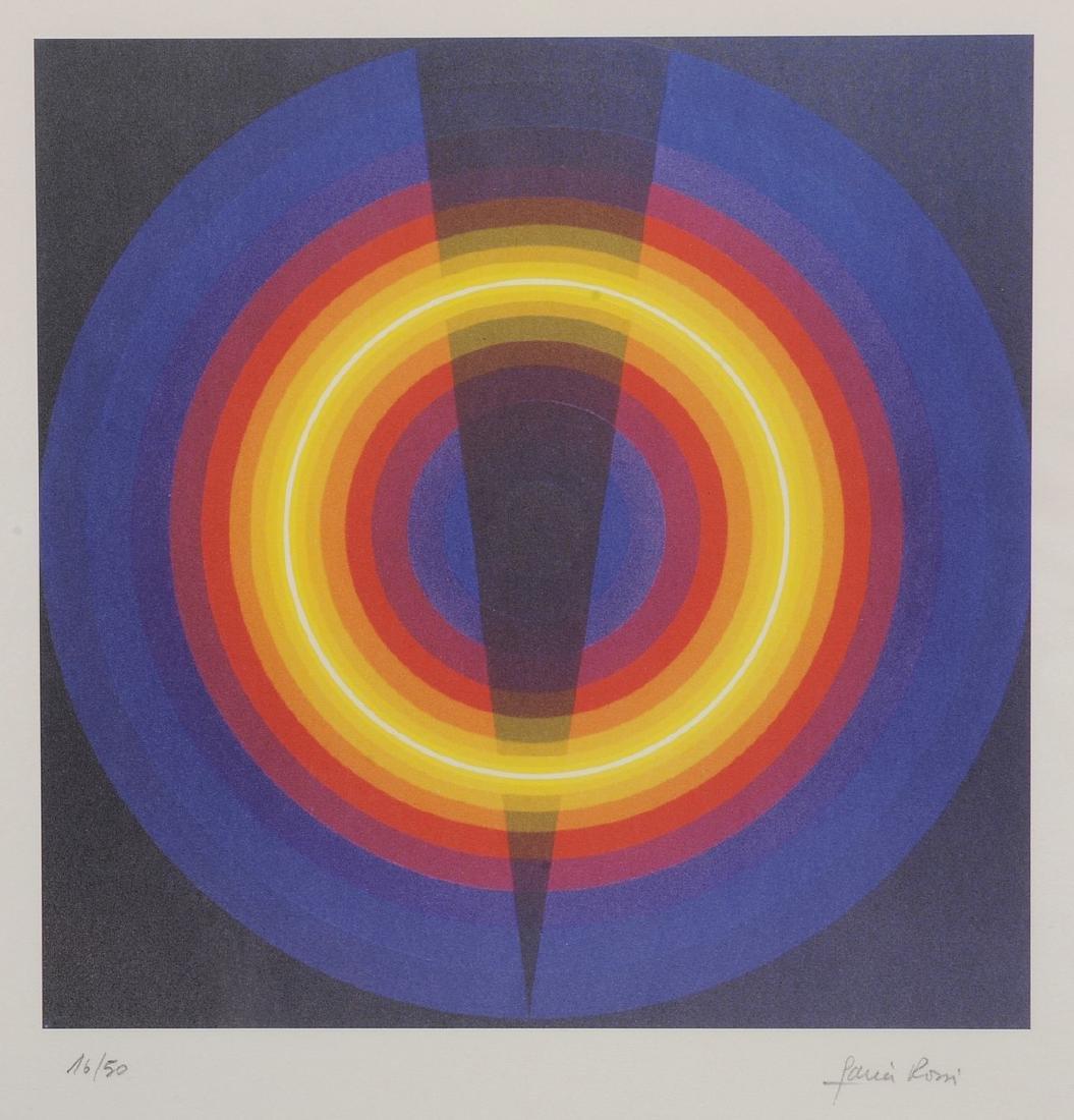 Horacio GARCIA ROSSI (Né en 1929)   Composition