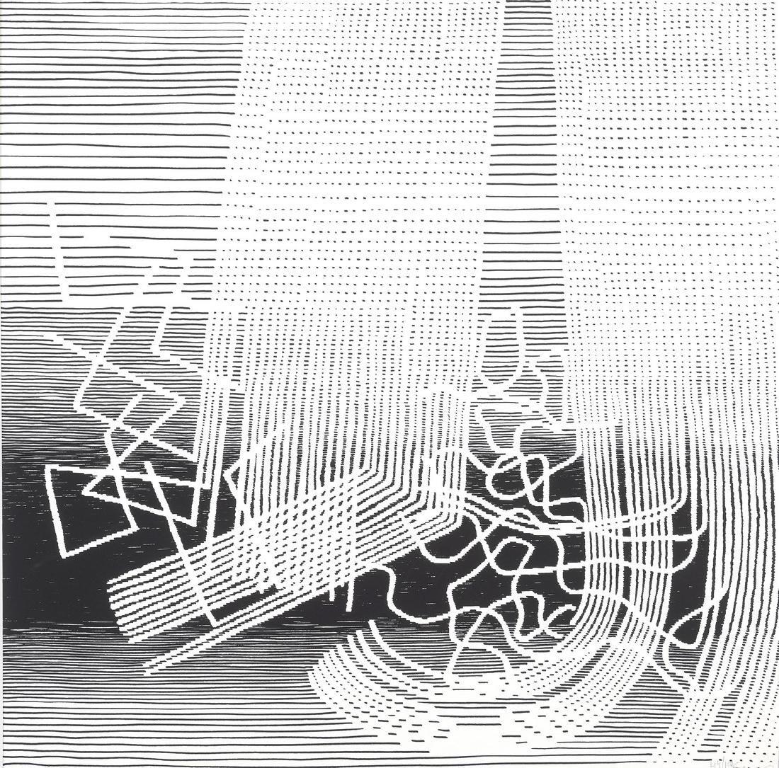 Michel SEUPHOR(1901-1999)  Composition  Lithographie