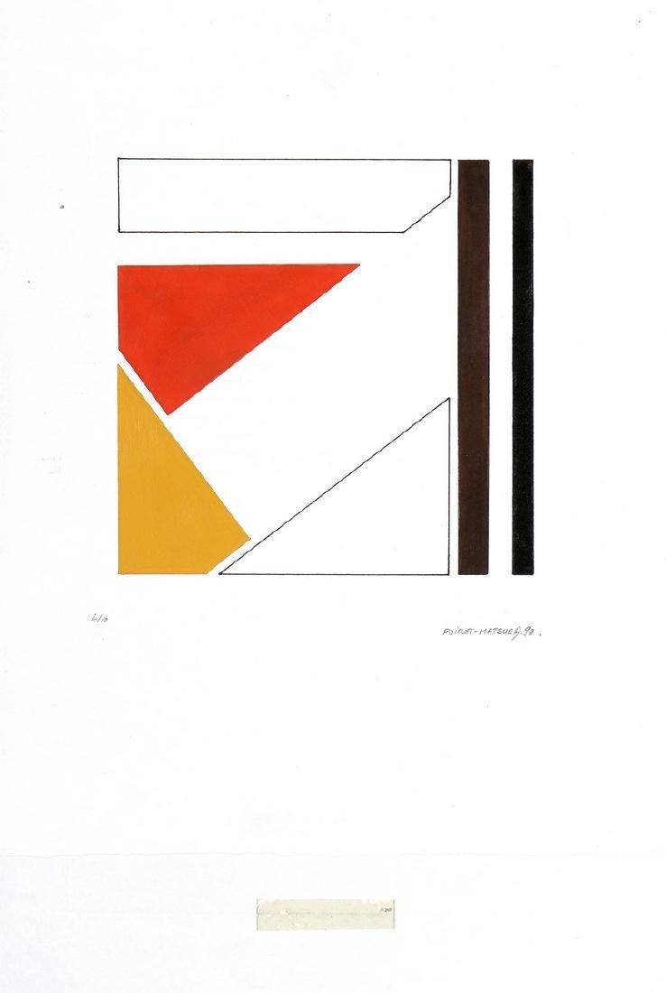 POIROT MATSUDA (Né en 1940)  Composition, 1990
