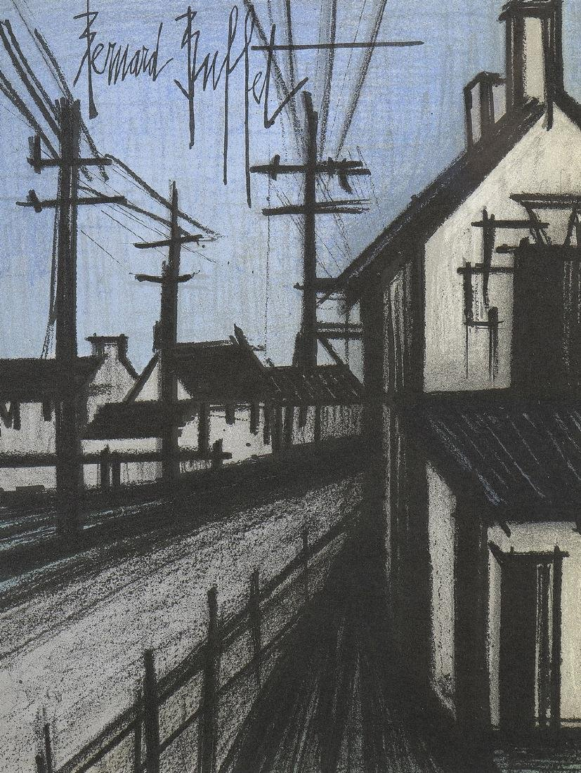 Bernard BUFFET (1928-1999)   La route du village
