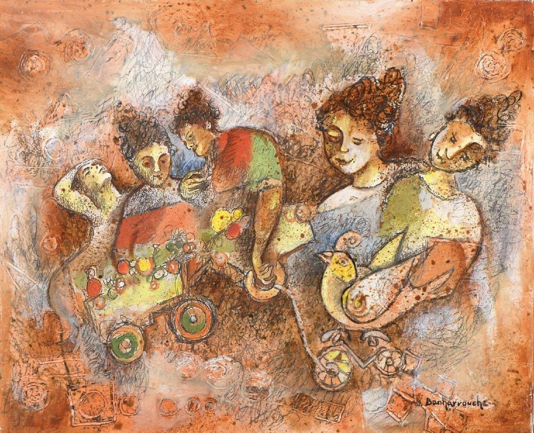 Yoel BENHARROUCHE (Né en 1961), Ecole israëlienne