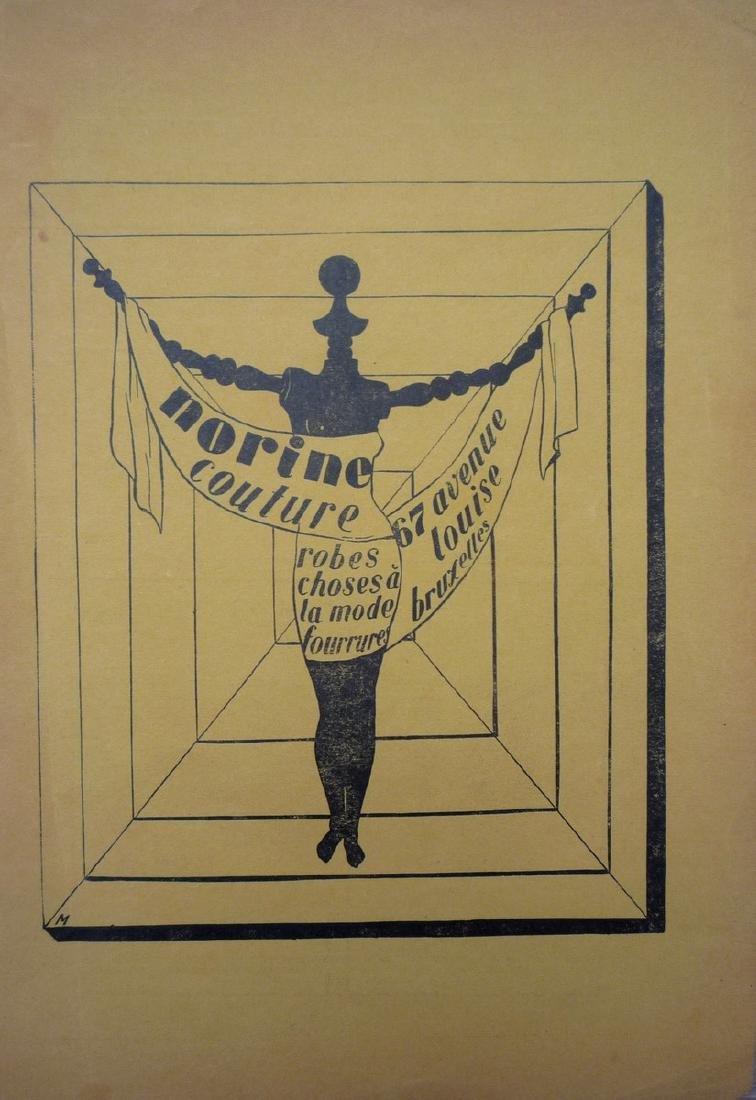 René MAGRITTE (1898-1967) , d'après