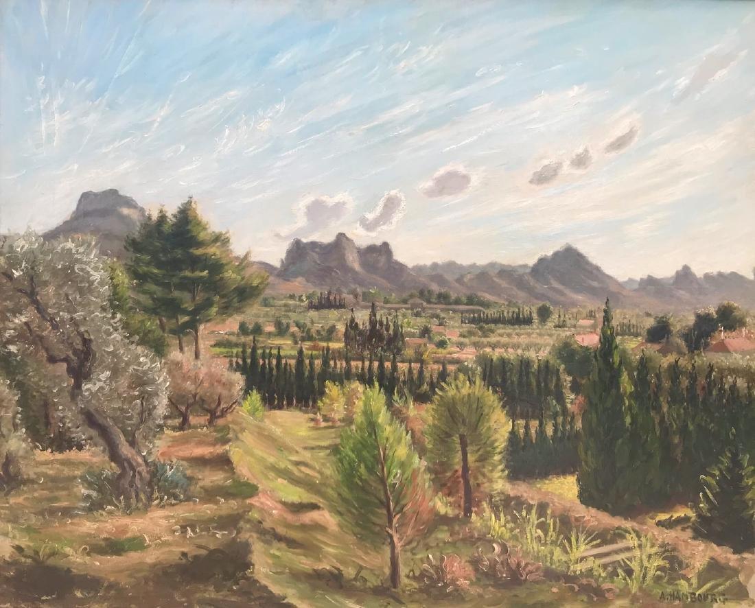 André HAMBOURG (Paris 1909 - 1999) Paysage