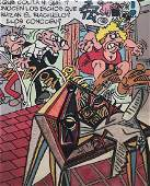 Gudmundur ERR� (Né en 1932)� Los Bichos�,2008