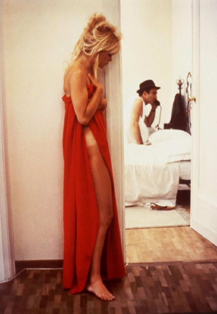 Patrick MORIN (1928-2002) Brigitte Bardot et Michel