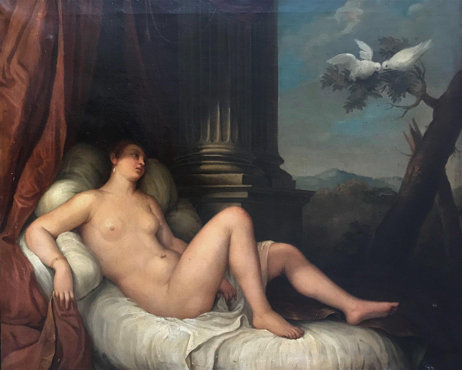 ECOLE ITALIENNE DU XIXème SIECLE   Vénus et