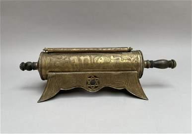 Boîte à rouleau d'Esther en métal