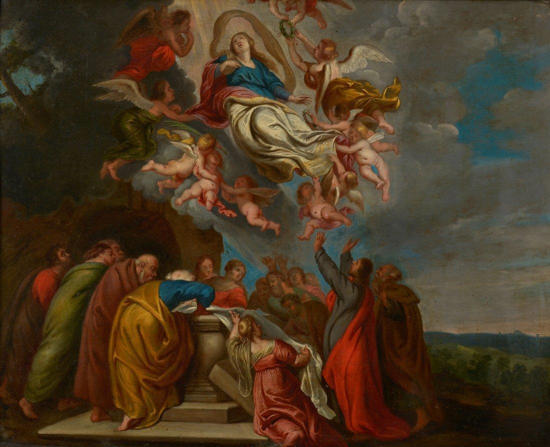 Théodor VAN THULDEN, Attribué à (1606-1669)  L'ascensio