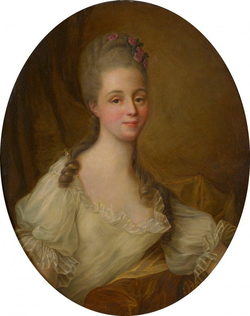 François Hubert DROUAIS (1727-1775) Portrait de femme H