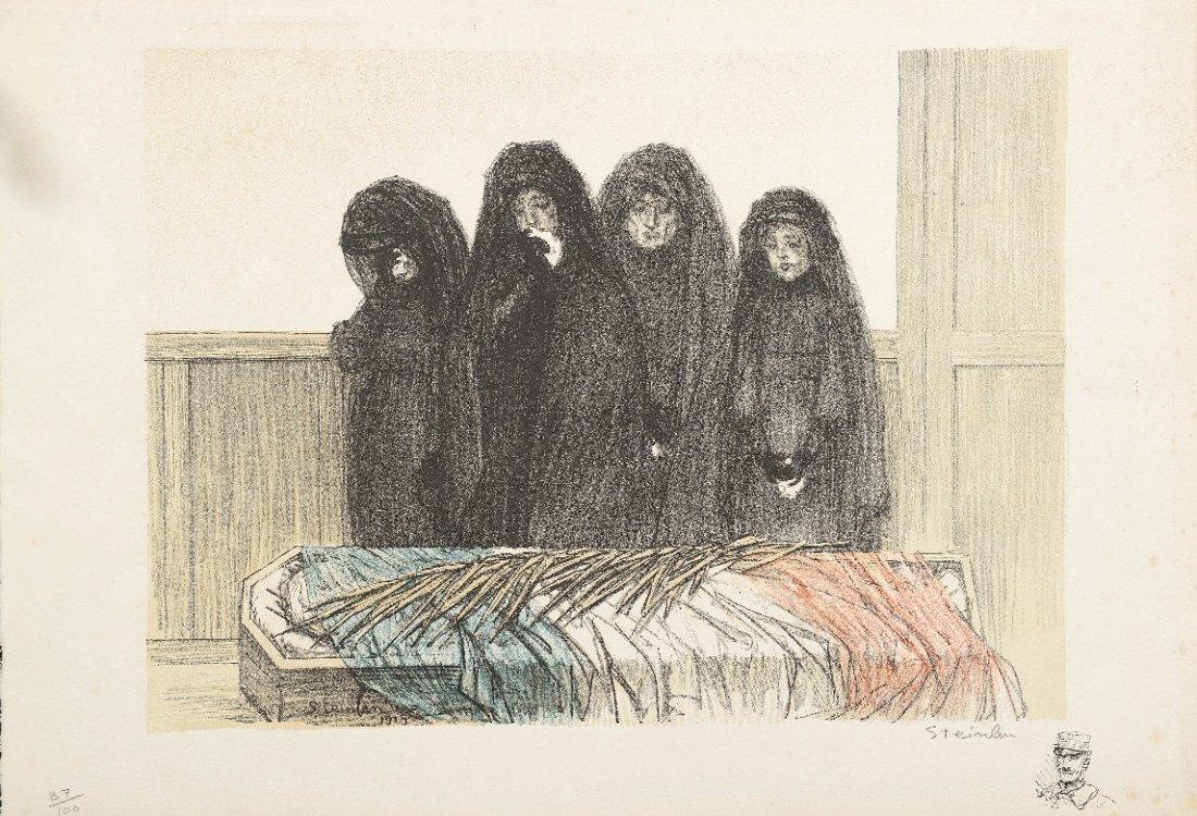 Théophile Alexandre STEINLEN (1859-1923) Ensemble de