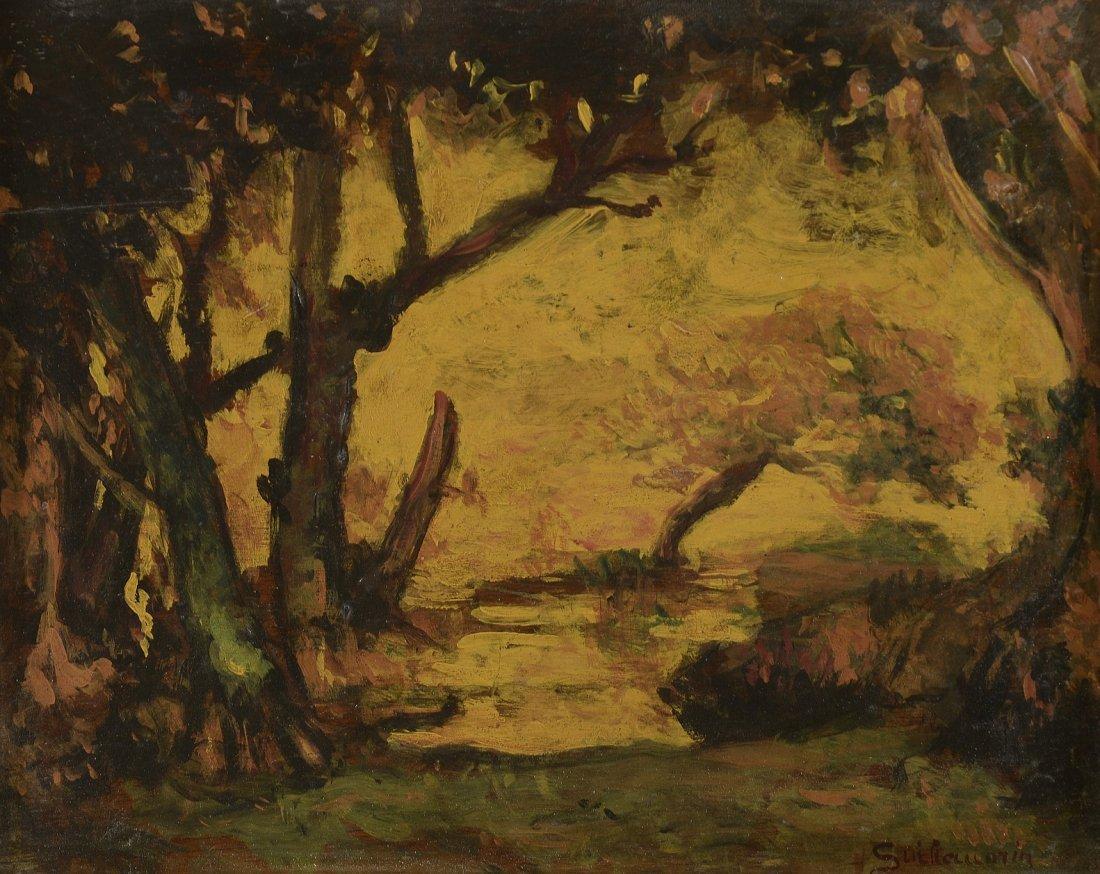 Armand GUILLAUMIN (1841-1927) Crépuscule, 1896 Huile