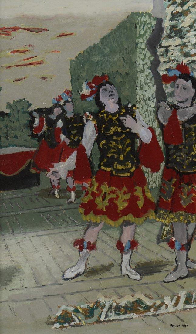 Maurice BRIANCHON (1899-1979) Le ballet - Louis XIV