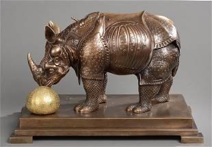 Salvador DALI (1904-1989) Rhinocéros habillé en