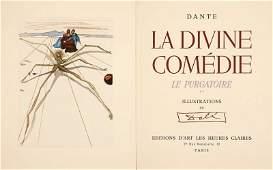 DALI Salvador DANTE La Divine Comdie LEnfer Le